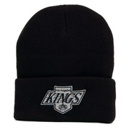 MITCHELL & NESS NHL TEAM LOGO CUFF KNIT BEANIE LA KINGS