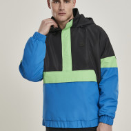 3-Tone Neon Mix Pull Over Jacket