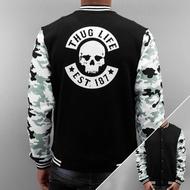 Thug Life Jacket / College Jacket Ragthug in black*