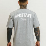 Amstaff Logo 2.0 T-Shirt - grey/white