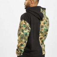Dangerous DNGRS Half Crown & King Hoody Camouflage/Black