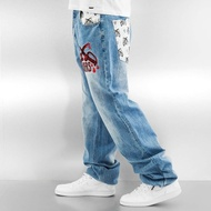 Dangerous DNGRS Jeans / Baggy Mother Fucking Crew in blue*