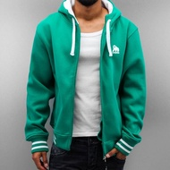 Dangerous DNGRS Overwear / Zip Hoodie Rockford in green*
