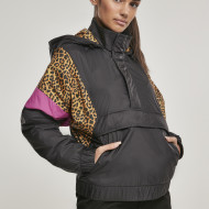 Ladies AOP Mixed Pull Over Jacket