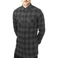 Long Checked Flanell Shirt