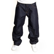 PELLE PELLE BAXTER BAGGY DENIM PANTS RAW INDIGO