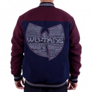 WU WEAR - PYN PROTECT YA NECK MELTON JACKET - WU-TANG CLAN