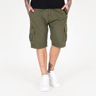 Amstaff Asutan Denim Shorts - olive