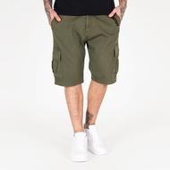 Amstaff Asutan Denim Shorts - olive