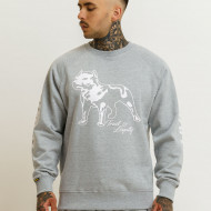 Amstaff Logo 2.0 Sweatshirt - grey/white