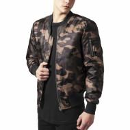 Camo Basic Bomber Jacket