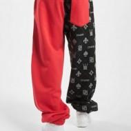 Dangerous DNGRS Half Crown & King Sweatpants Black/Red