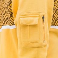 Dangerous DNGRS Overwear / Zip Hoodie All Over II in yellow*
