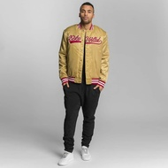 Ecko Unltd. Jacket / Bomber jacket Shinning Star in gold colored
