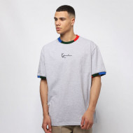 Karl Kani T-shirt Signature Ringer Tee grey/navy/green/red