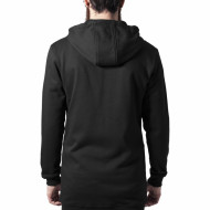 Long Peached Tech Zip Hoody