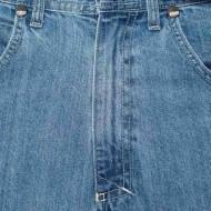 Mass Denim Jeans Slang Baggy Fit blue