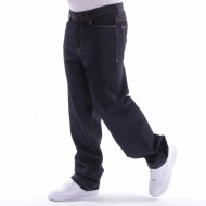 Pelle Pelle Baxter baggy denim pant raw black