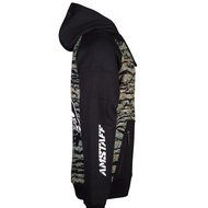 Amstaff Zervis Half Ziphoodie - camouflage