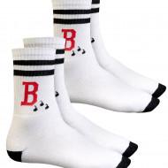 Blood Jerga Socken - 2er Pack weiß