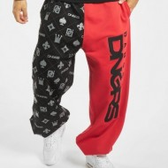 Dangerous DNGRS Half Crown & King Sweatpants Black/Red