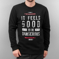Dangerous DNGRS Overwear / Jumper It Feels Good in black*