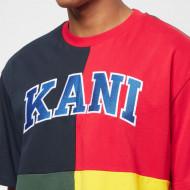 Karl Kani T-shirt Serif Block Tee navy
