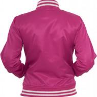 Ladies Shiny College Jacket