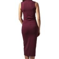 Ladies Stretch Jersey Turtleneck Dress