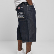 Southpole Denim Shorts with Tape