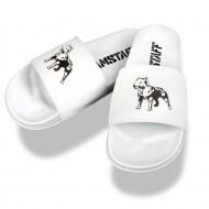Amstaff Dogs Bay pool slides - white
