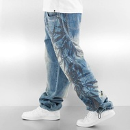 Dangerous DNGRS Jeans / Baggy Hemp in blue*