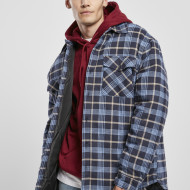 Plaid Quilted Shirt Jacket