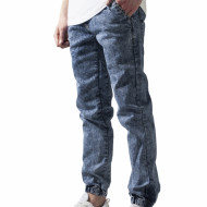 Stretch Denim Jogging Pants