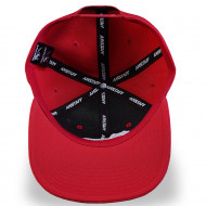 Timus Snapback Cap - red