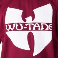 Wu Wear - Wu Tang Clan - Tricou cu logo-ul clanului Wu-Tang - rosu visiniu - clanul Wu-Tang