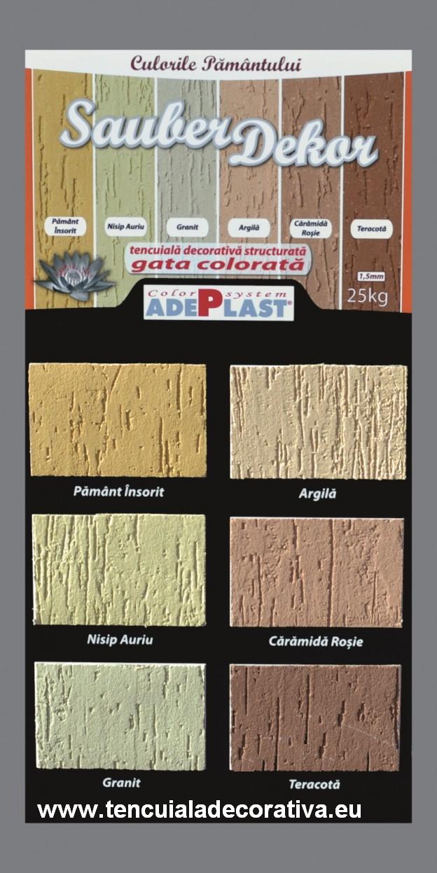 Paleta De Culori Tencuiala Decorativa.Adeplast Sauber Dekor Culori Gratuite
