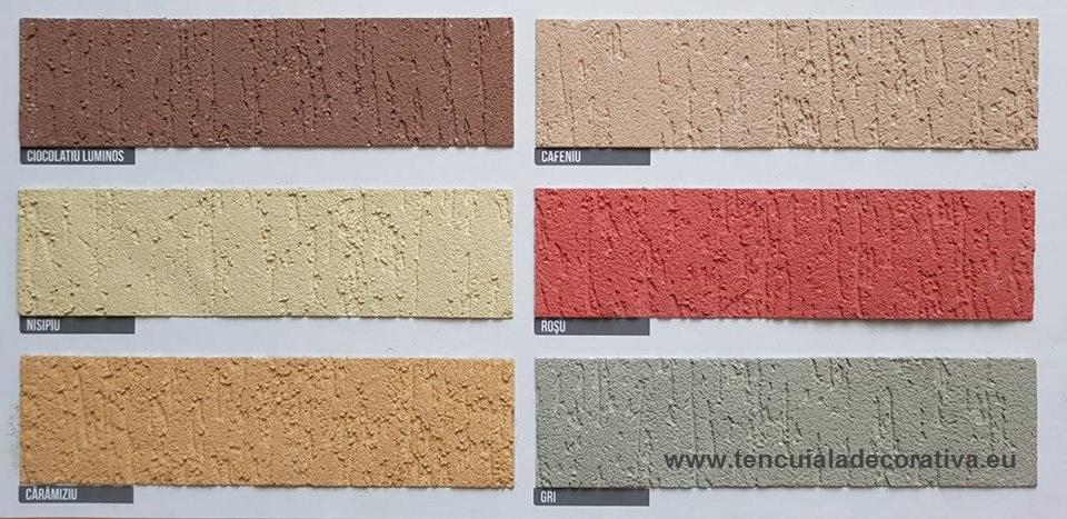 Paleta De Culori Tencuiala Decorativa.Danke Textur Siliconica Gratuit Orice Culoare