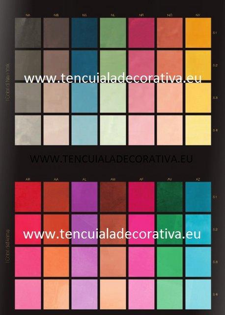 Tencuiala Decorativa Coramet.Paletare Tencuiala Decorativa