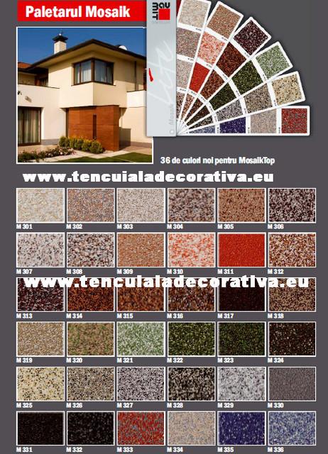 Tencuiala Decorativa Baumit Pret.Baumit Mosaiktop