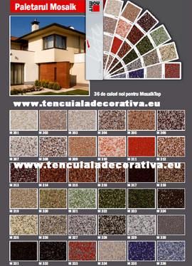 Tencuiala Decorativa Exterior Sto.Baumit Mosaiktop
