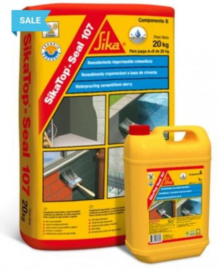 Mortar usor elastic bicomponent SIKATOP® SEAL-107 impermeabilizant