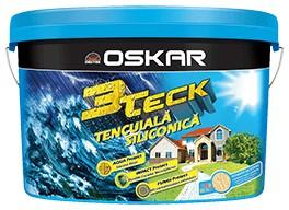 OSKAR 3Teck Siliconica CULORI GRATUITE 25kg