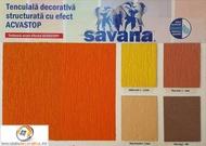 Tencuiala decorativa Savana cu Silicon