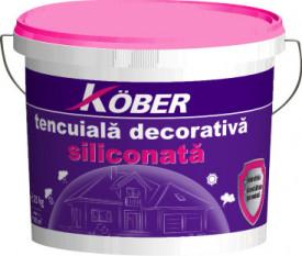 TENCUIALA DECORATIVA SILICONATA KOBER PROFESSIONAL 25KG