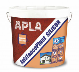 Tencuiala decorativa cu silicon APLA AplaTencoPlast 24Kg