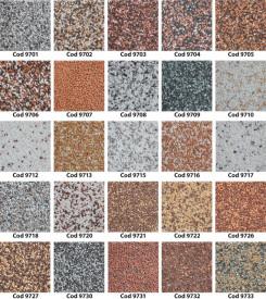 Tencuiala decorativa OSKAR Mosaik 25 Kg