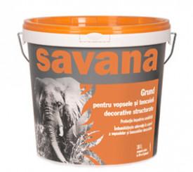 SAVANA -Grund pentru vopsele si tencuieli decorative structurate