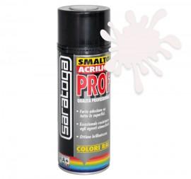 Spray email lucios SMALTO acrilic profesional ALB PERLA RAL1013 - 400ml