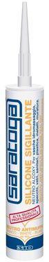Silicon sigilant neutru SANITAR (antimucegai) de culoare ALBA RAL 9010 - 310ml